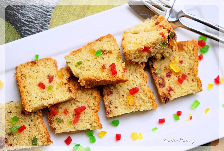 Tutti Frutti Cake Recipe   Your Food Fantasy