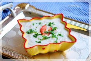 Vegetable Raita Recipe   Raita Recipes   YourFoodFantasy.com by Meenu Gupta