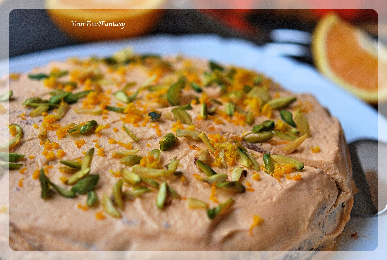 Orange Pistachio Cake Recipe | Easy Cake Recipes | YourFoodFantasy.com
