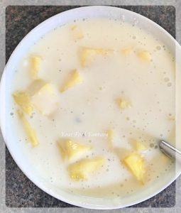 Pineapple Raita Recipe | YourFoodFantasy.com