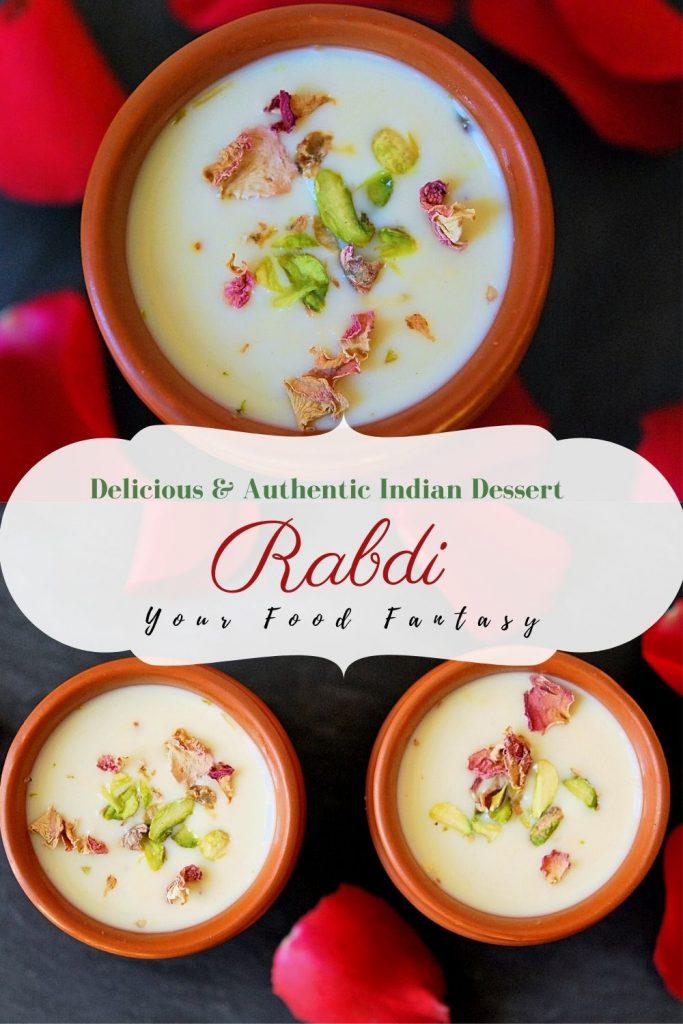 Rabdi Recipe, How to make rabdi  | Your Food Fantasy