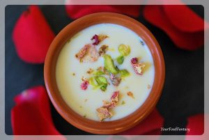Rabri or Rabdi Recipe | An Indian Dessert | YourFoodFantasy.com
