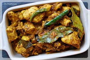 South Indian Style Dry Chicken   Chicken Recipes   Your Food Fantasy