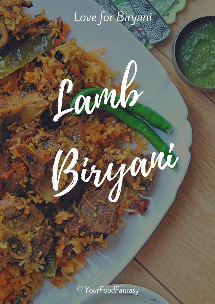 Briyani Lamb - Kacche Gosht ke Biryani Recipe