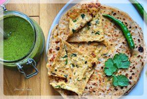Easy Paneer Paratha Recipe