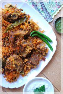 Mutton - Lamb Biryani Recipe