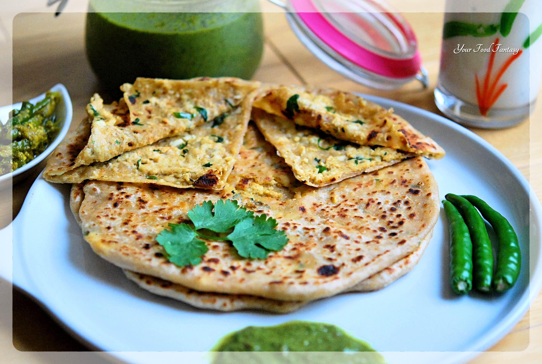 Paneer Paratha Recipe   Your Food Fantasy
