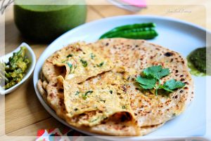 Paneer Paratha Recipe | YourFoodFantasy.com