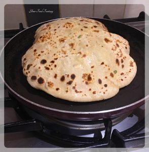 Puffed Paneer Paratha   Your Food Fantasy