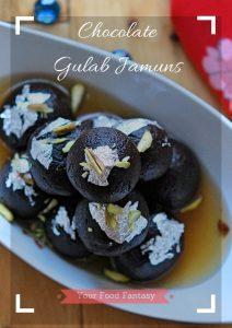 Chocolate Gulab Jamun Recipe | Home Made Gulab Jamuns Recipe