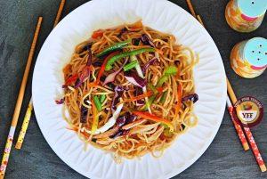 Hakka Noodles Recipe   Indo Chinese Cuisine