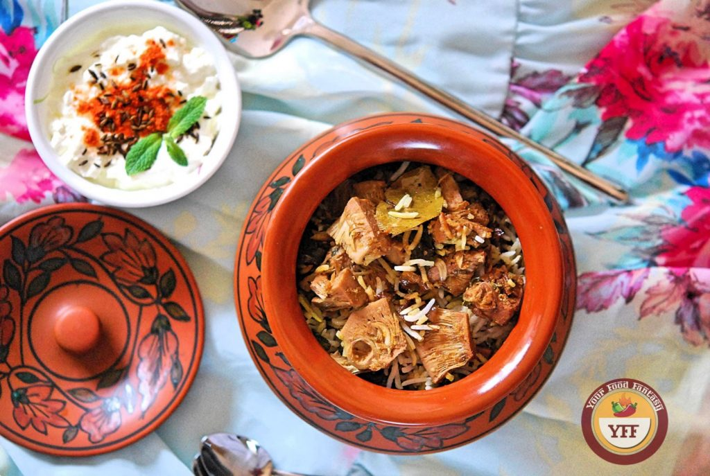 Kathal -Jackfruit Biryani | Jackfruit Recipes | Your Food Fantasy