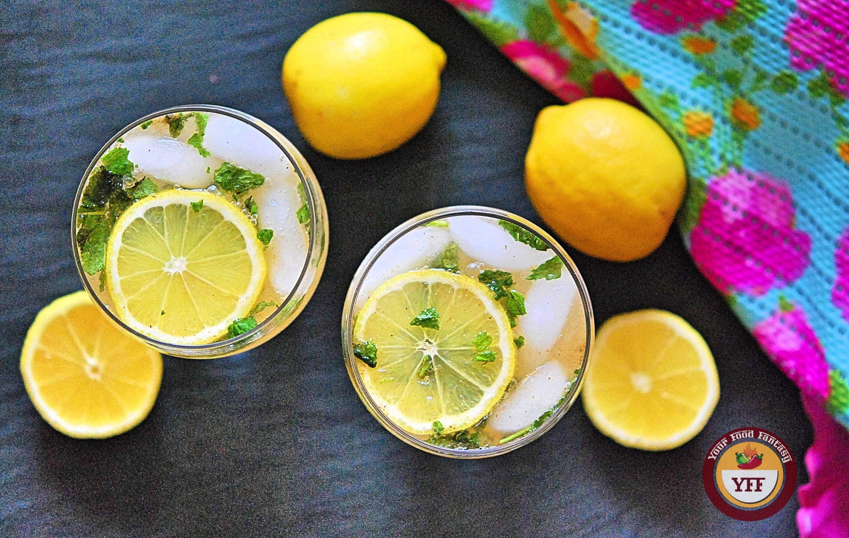 Nimbu Masala Shikanji Recipe - Summer Drinks | Your Food Fantasy