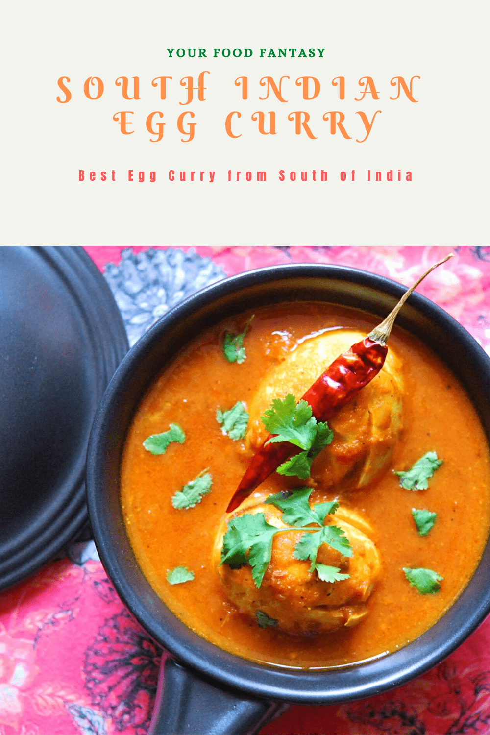 South Indian Egg Curry | Your Food Fantasy