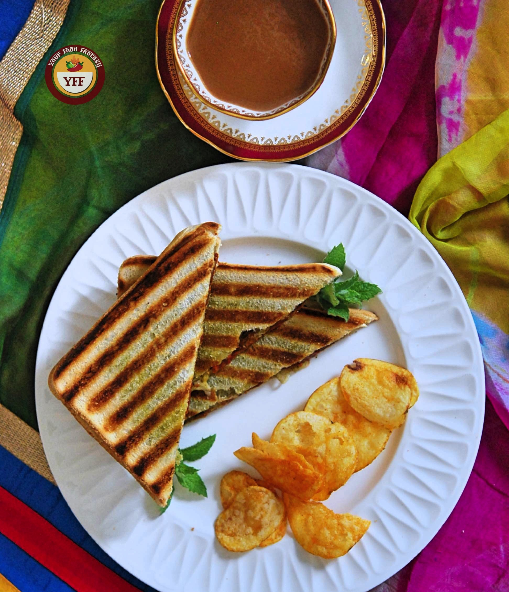 Sundried Tomatoes and Cheese Grilled Sandwich   Your Food Fantasy