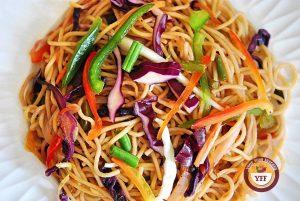 Veg Hakka Noodles Recipe  YourFoodFantasy.com