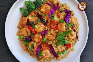 Prawn Fried Rice Recipe   Your Food Fantasy