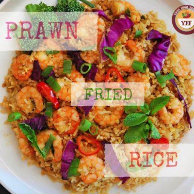 Prawn Fried Rice Recipe | Your Food Fantasy