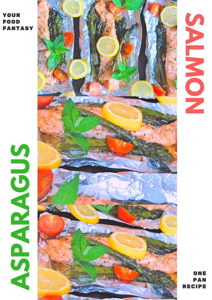 Asparagus Salmon Foil Bake | Your Food Fantasy