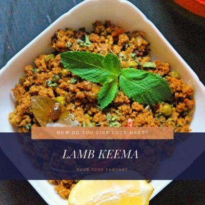 Lamb Keema   MInced Lamb Recipe