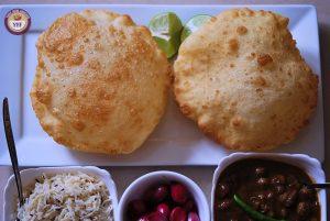 Punjabi Bhature | YourFoodFantasy.com