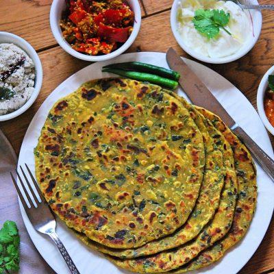 Gujrati Methi Thepla Recipe   Your Food Fantasy