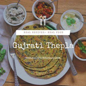 Gujrati Methi Thepla Recipe | Your Food Fantasy