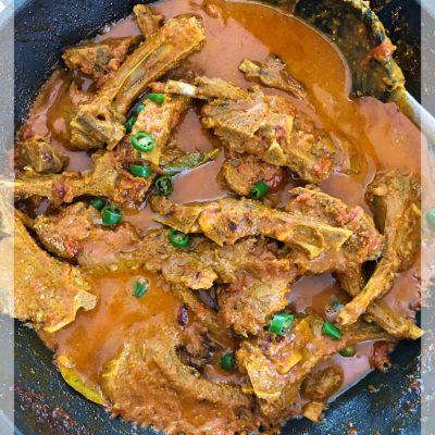 Lamb Chops Curry Recipe | YourFoodFantasy.com