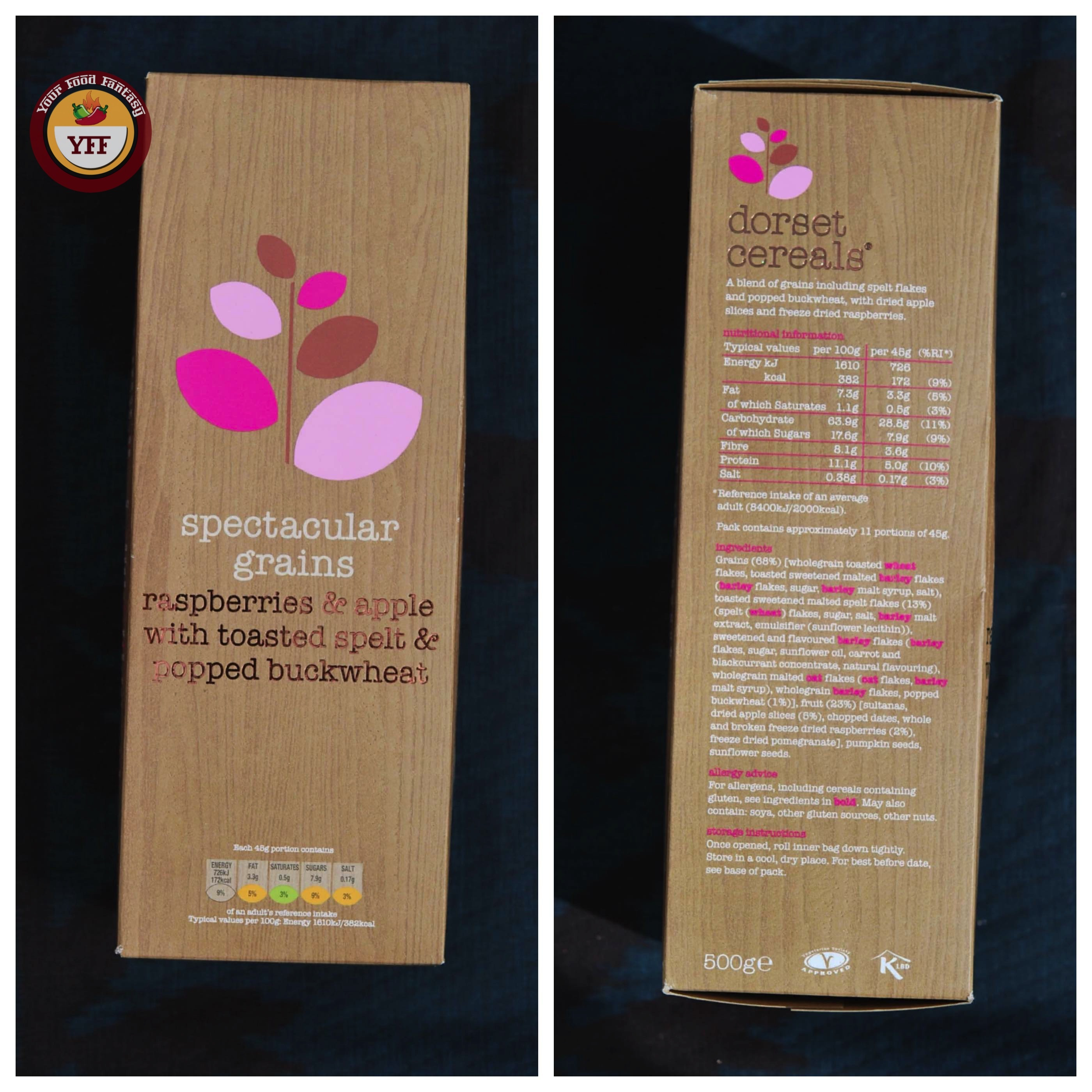 DegustaBox August Review - Dorset Cereals