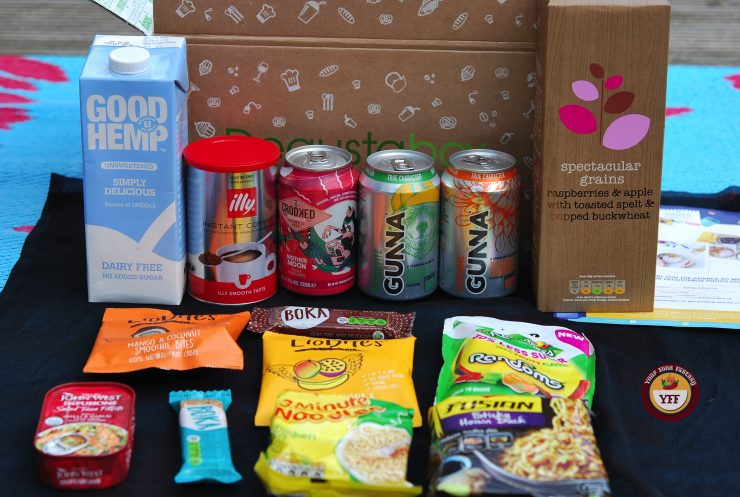 DegustaBox August Review   Get your Products reviewed