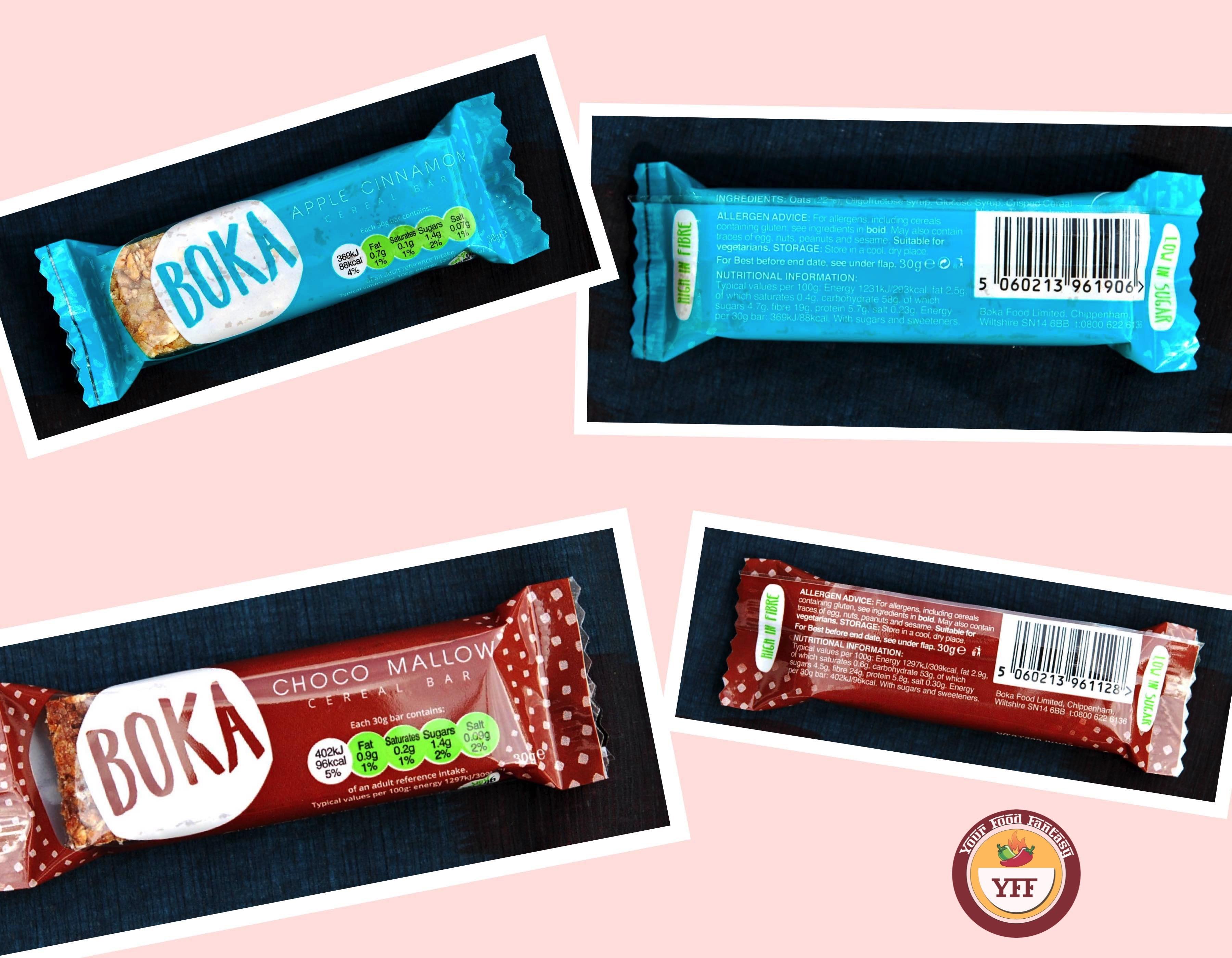 Degustabox August Review - Boka Cereal bars
