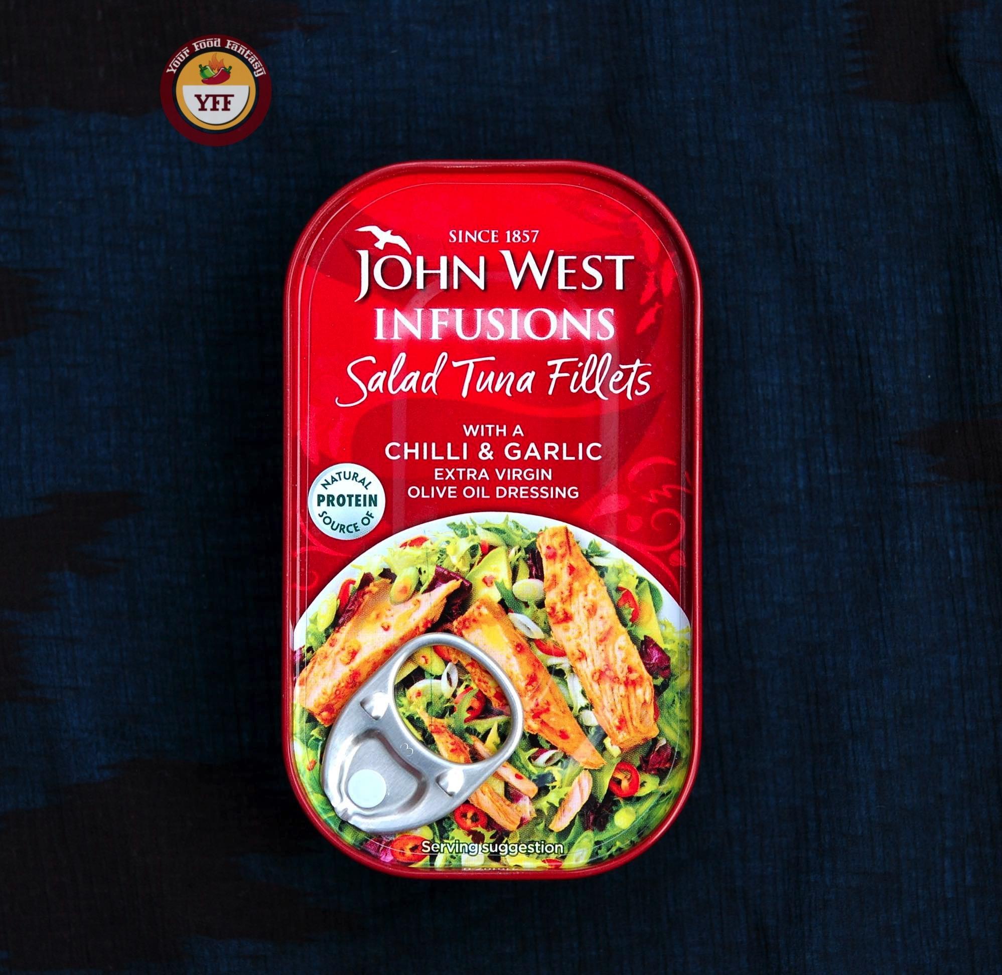 John West Salad Tuna Fillets - DegustaBox August Review