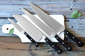 Chef Knives : Image Source - Deposit Photos