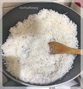 Fresh Coconut Burfi Recipe | Your Food Fantasy