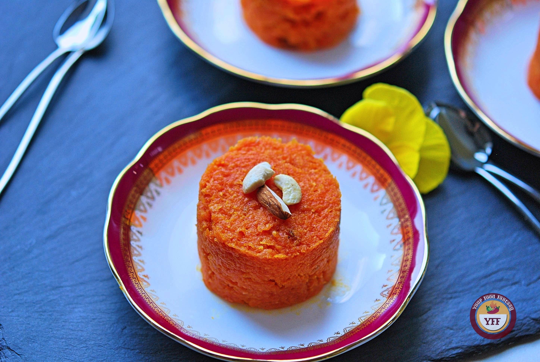 Gajar Ka Halwa | Traditional Indian Carrot Pudding Recipe | YourFoodFantasy.com