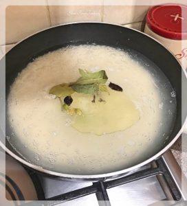 Kathal Biryani - Boiling Rice