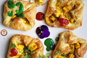 Paneer Tikka Pockets - Paneer Tikka Parcels | Paneer Recipes - YourFoodFantasy.com