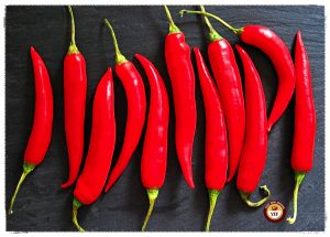 Red Chillies for Chilli Fritters   Your Food Fantasy