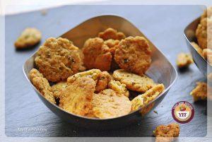 Crispy Mathri Recipe - Savoury Recipe   YourFoodFantasy.com