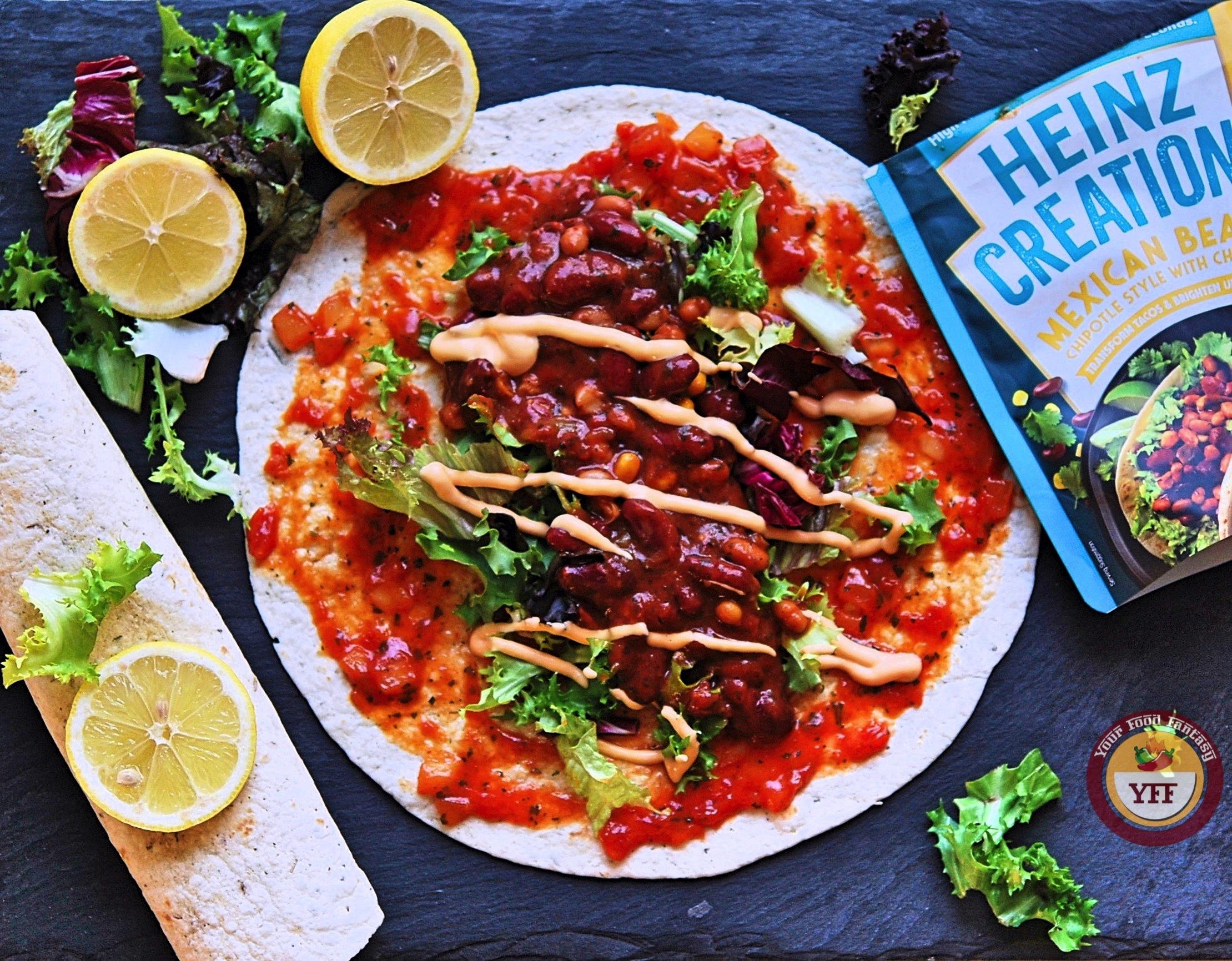 Heinz Creationz Maxican Beanz Review | Degustax Box Review | Your Food Fantasy