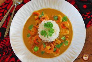Malai Prawn Curry   Easy Prawn Recipe   Your Food Fantasy