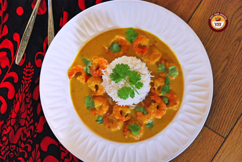 Prawn Malai Curry Recipe   Your Food Fantasy