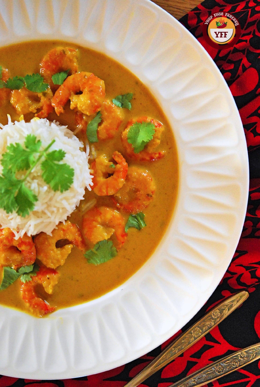 Prawn Malai Curry Recipe   YourFoodFantasy.com
