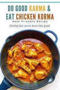 Keto Chicken Korma Recipe   Your Food Fantasy