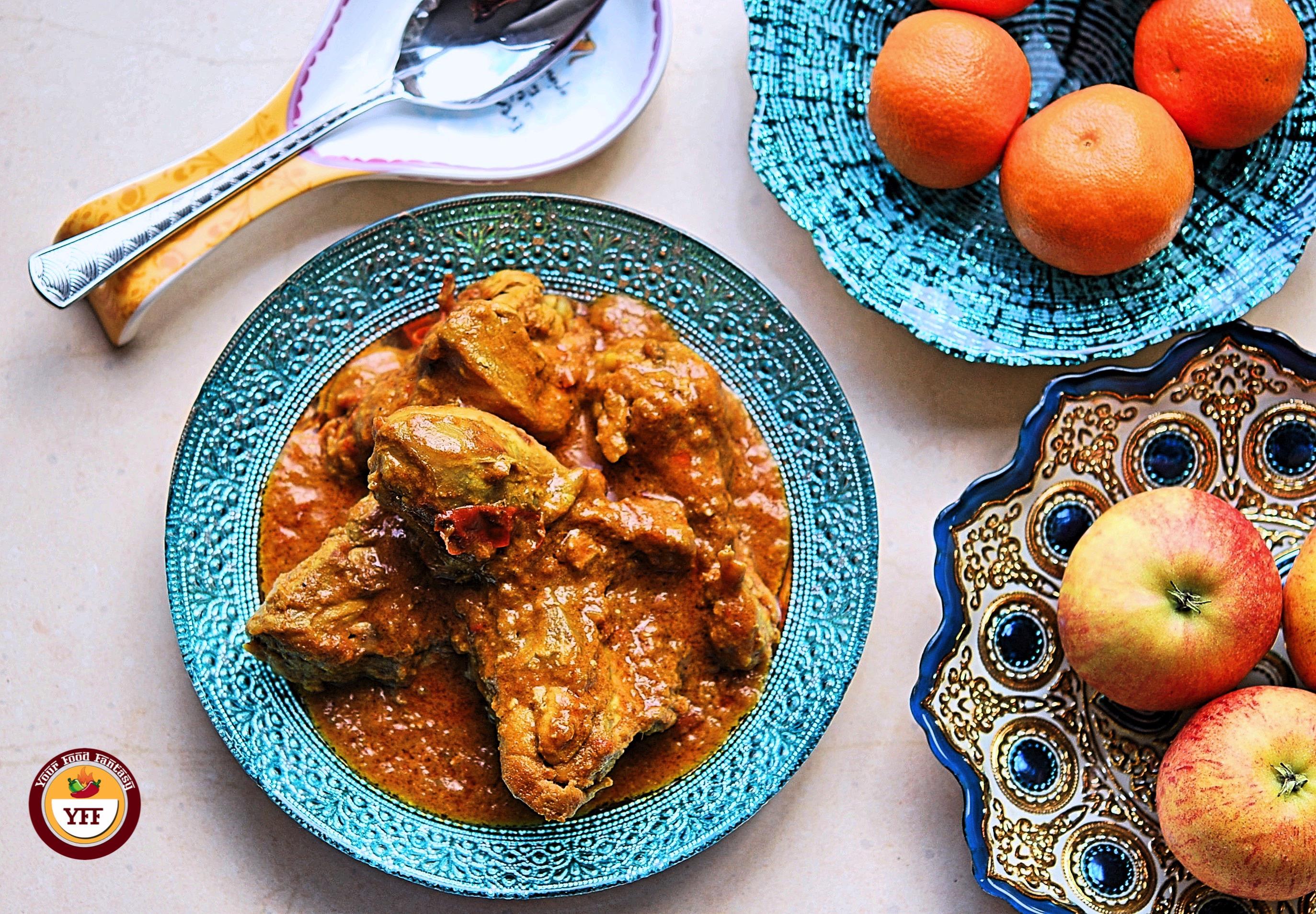 Keto Chicken Korma | Ketogenic Chicken Recipe | YourFoodFantasy.com
