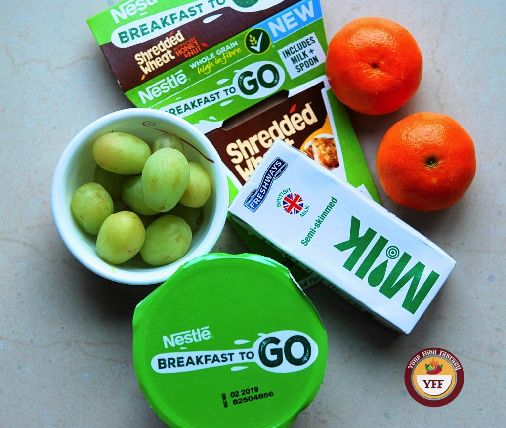 Nestle Shredded Wheat Breakfast on the go review by Your Food Fantasy   Degustabox Review and discount code