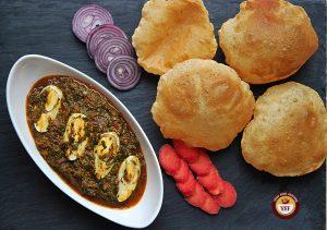 Spinach Egg Curry - Egg Curry Recipe | YourFoodFantasy.com