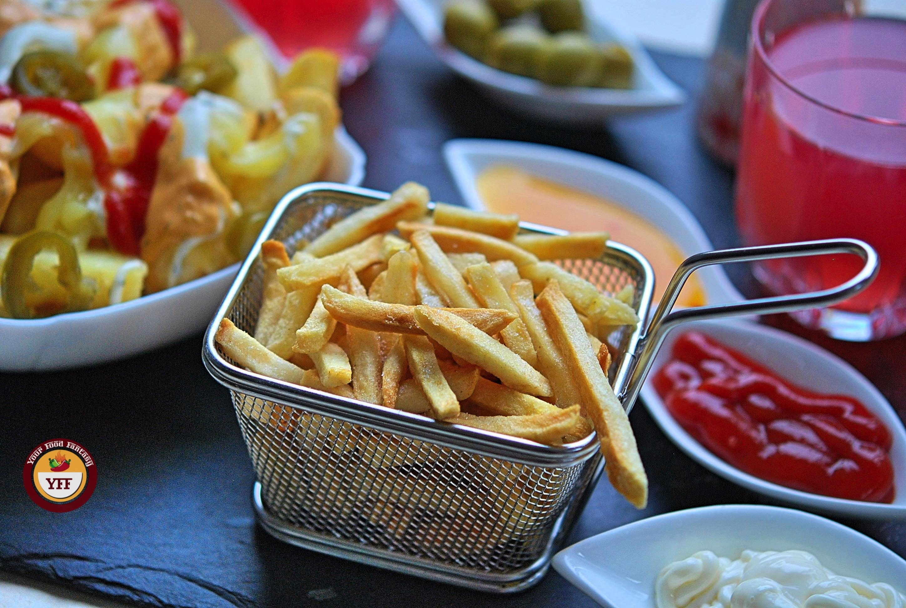 Tasty Fries or Chips made using Aigostar Air fryer | YourFoodFantasy.com