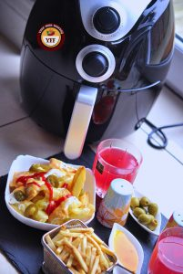 Tasty Fries or Chips made using Aigostar Airfryer   YourFoodFantasy.com