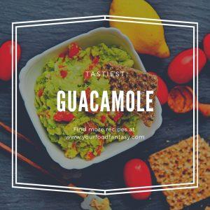 Easy and Authentic Guacamole recipe